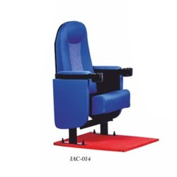 Pu Foam Push Back Theater Chair