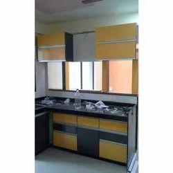 Rectangular Wooden Kitchen Cabinet