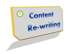 Content Re-Writing