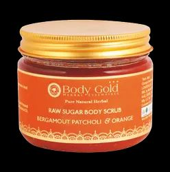 Raw Sugar Body Scrub - Bergamot Patcholi & Orange