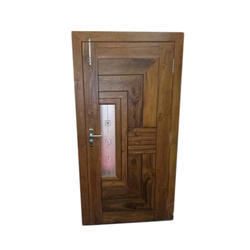 Decorative Wooden Door, Size: 6-7 feet