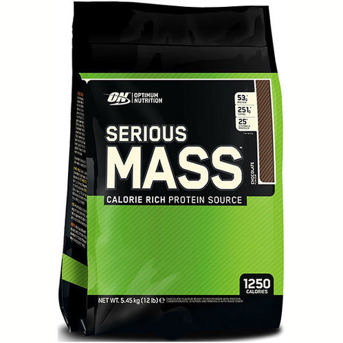 ON Optimum Nutrition Serious Mass Nutritional Supplements, 4-6 Kg, Type: Pouch, Proteins
