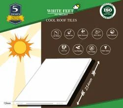 Thermal Solar Reflective Tiles - WHITEFEET