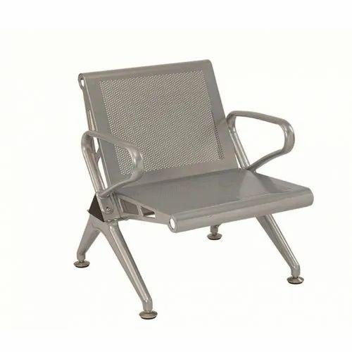 Mild Steel Waiting Chair