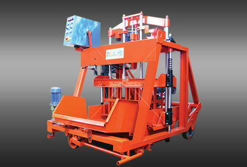 Global 860 G Solid Block Machine, Capacity: 4800 Blocks Per Day
