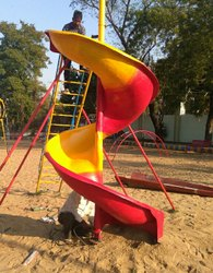 Fibre Spiral Slide