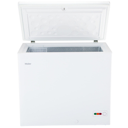 Haier Hard Top Deep Freezer 230 Ltrs (HCC-230HC), Less Than Or Equal To 18 Deg C, 0.61 Kw