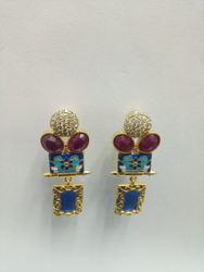 PBCI Brass Party Wear Imitation Jewellery, Size: Small