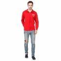 Mens Red Sweatshirt