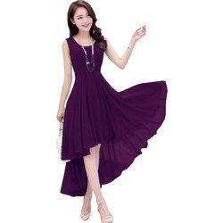 Harshita Creation Georgette Party Wear Western Dresses