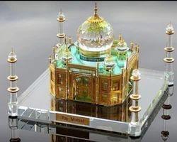 Glass Taj Mahal