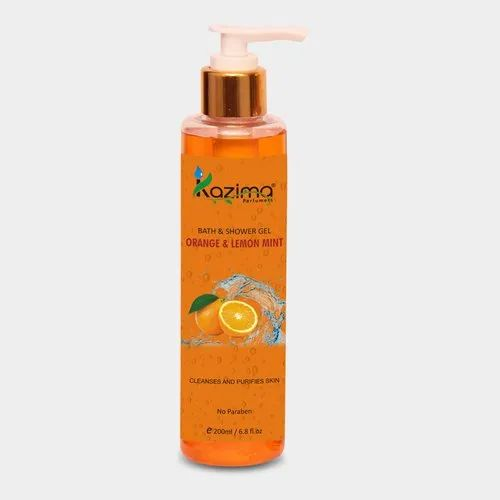Kazima Orange and Lemon Mint Body Wash