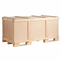 Rectangular Brown Plywood Packaging Box, 5-15 mm