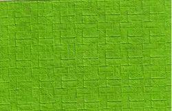 Brick Pattern Handmade Embossed Paper