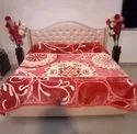 Double Bed Platinum Red Gullivar Blankets