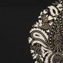 Black Pure Cotton Kurta With Pant (SET053)