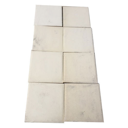 Grey Plain Square Paver Tiles For Landscaping