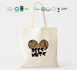 Gots Organic Cotton Nuts Bag