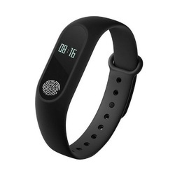 Grey Rubber OPTA-SB-066 Heart Rate Monitor Fitness Tracker
