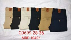 Mens Casual Cotton Jeans