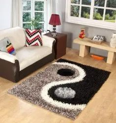 For Home Brown Shaggy Carpet