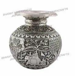 Silver Plated Kalash