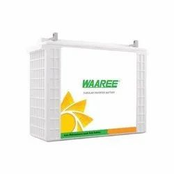 3 Years Waaree 200 Ah Inverter Tubular Battery 12WT200H36