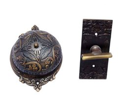 Belshazzar Brass Manual Old Fashioned Door Bell