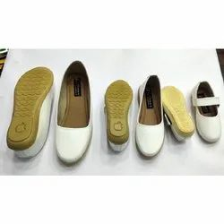 Women White Belly Shoes