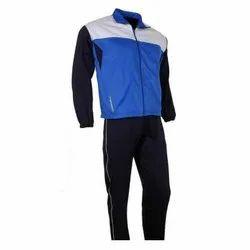 Parachute/ Nylon & Fleece Plain Mens Sports Tracksuit
