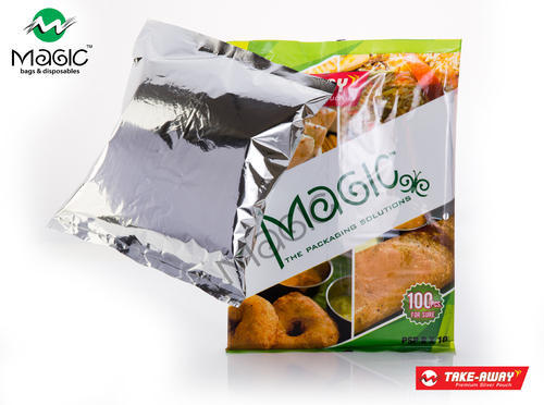 SILVER FOIL FOOD POUCHES - Silver Pouch Manufacturer from