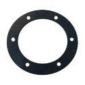 Black Rubber Flange Gaskets, Packaging Type: Polybag