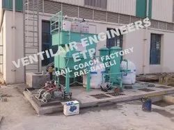 Effluent Treatment Plant Ready Mix Tanker Washing