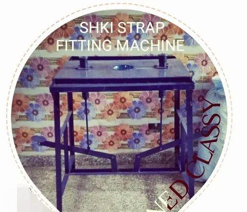 Slipper Strap Fitting Machine