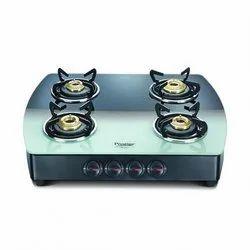 Premia SCHOTT Glass Top Gas Stove-GTS 04 for Kitchen