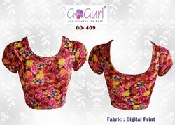 GO 409 Digital Print Blouses