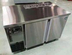 Stainless Steel Undercounter Freezer
