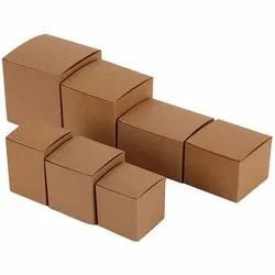 Brown Rectangular Corrugated Mono Cartons, Box Capacity: 1-5 Kg