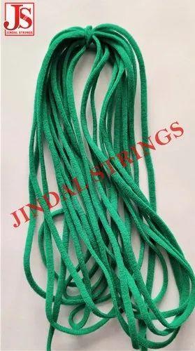 JS Green Polyester Elastic For N-95 Masks