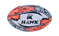 Rugbyball School Level, Size 5, Hawk Super Club