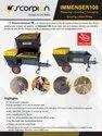 Plastering Machine Immenser 108
