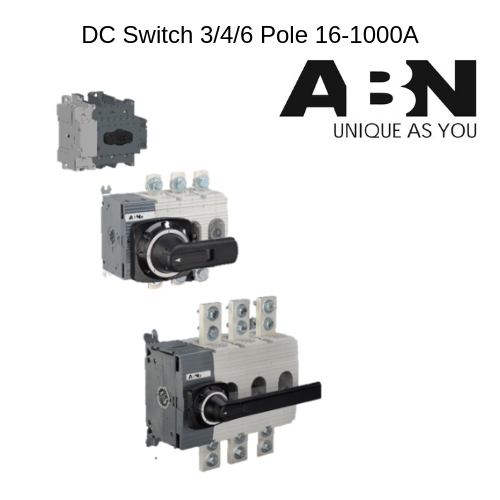 DC Switch,  Rated Current: 20a-1000a