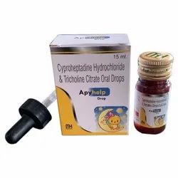 Cyproheptadine Hydrochloride And Tricholine Citrate Oral Drops
