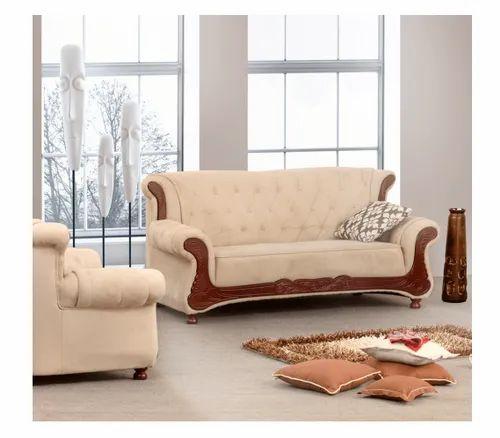 Damro Grace 5 Seater Living Room Sofa Set, Warranty: 1 ...