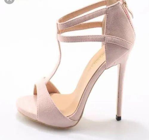 Pencil baby pink heels, Rs 2500 /piece
