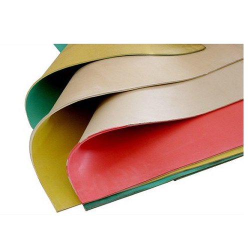 Yellow Various Types Of Rubber Sheets, Softex Industrial
