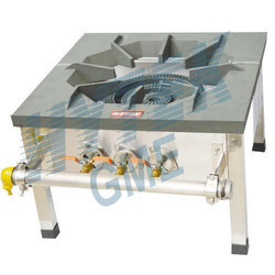 Hytek Gme Iron and Stainless Steel Single Burner Gas Stove Iron Top