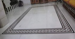 White Morwad Marble Tiles Kolkata, For Flooring, Unit Size: 2feet Above Sizes