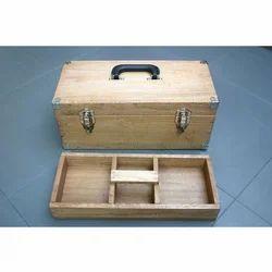 Plain Wooden Tool Box