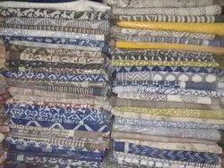 Kantha Block Print Quilts Gudri